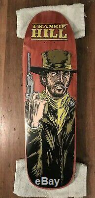 1991 Powell Peralta Frankie Hill Signed Clint Skateboard Deck By Sean Cliver