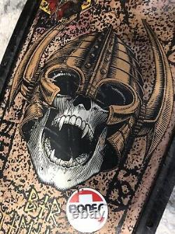 80s Powell Peralta, Per Welinder Skateboard Complete With Gull Wing Trucks Vintage
