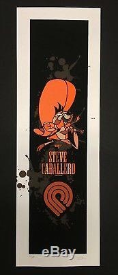 DAVID FLORES STEVE CABALLERO SPEEDY GONZALES Powell Peralta Print Rare Signed
