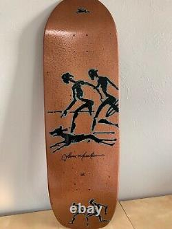 Lance Mountain Hand Painted Primitive Deck Hammered Bronze