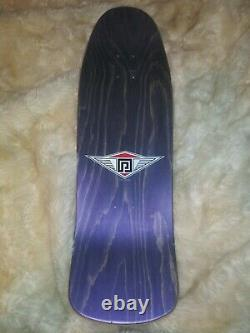NOS Powell Peralta Ray Underhill Cross Skateboard Deck Purple Stain Not Reissue