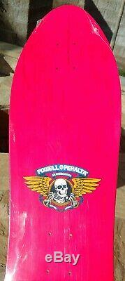 NOS Powell Peralta Steve Saiz Skateboard Deck HOT PINK-VERY RARE NEW IN SHRINK