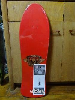 Old School Ray Barbee Powell Peralta Reissue Skateboard Deck Red 80s Vintage New