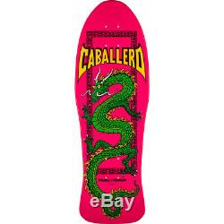 POWELL PERALTA STEVE CABALLERO CHINESE DRAGON PINK 10.0 Skateboard Deck