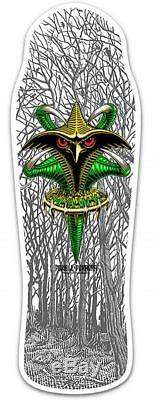 POWELL PERALTA Tony Hawk Limited Edition Claw White Reissue Deck