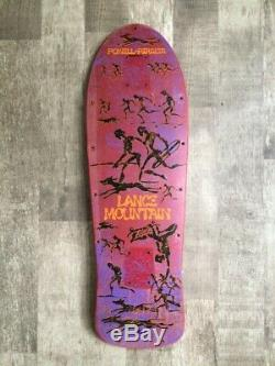 Powell Lance Mountain Cave Drawing Skateboard