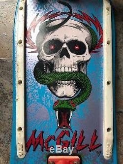 Powell Peralta 1980s Mike McGill Complete Skateboard