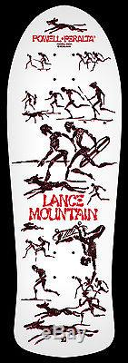 Powell Peralta 9th Series Reissue Lance Mountain Skateboard Deck Limited New 80s