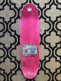 Powell Peralta Frankie Hill Jester Reissue, SIGNED and Limited Edition 20 oo 250
