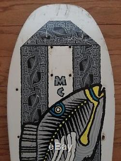 Powell Peralta Mike McGill Triggerfish Vintage 80s Skateboard Deck