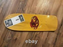 Powell Peralta Mike McGill reissue skateboard deck New in Shrink Yellow