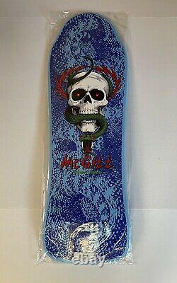 Powell Peralta Mike Mcgill Limited Skateboard Deck Series 10 #702/2000 blue