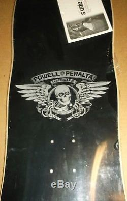 Powell Peralta Mike Vallely Elephant Reissue Skateboard Deck Rare Silver Vcj