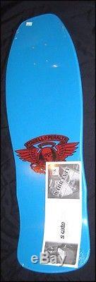 Powell Peralta Per Welinder Nordic Skull Reissue Skateboard Deck in Classic Blue