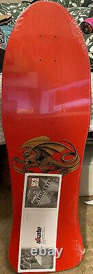 Powell Peralta Skateboard Steve Caballero Chinese Dragon Red Rare NOS Limited