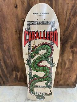 Powell Peralta Steve Caballero Chinese Dragon Natural Re-issue Deck 10 x 30
