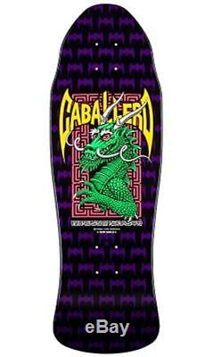 Powell Peralta Steve Caballero DRAGON AND BATS Deck BLK/GRN/PURP Out Of Print