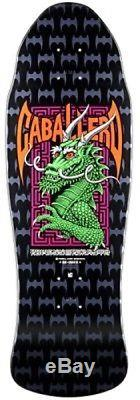 Powell Peralta Steve Caballero DRAGON AND BATS Deck BLK/GRN/SLVR Out Of Print