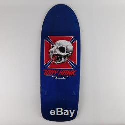 Powell Peralta Tony Hawk Chicken Skull Reissue Blue New Skateboard Deck