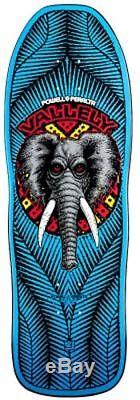 Powell Peralta Vallely ELEPHANT Skateboard BABY BLUE Out Of Print 2011