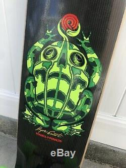 Powell Peralta downhill board Byron Essert Frog Carbon Fiber Valkyrie Truck ABEC