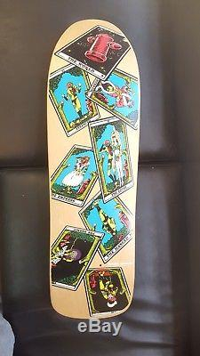 Powell peralta 1991 ray barbee rag doll tarot card skateboard deck nos vintage
