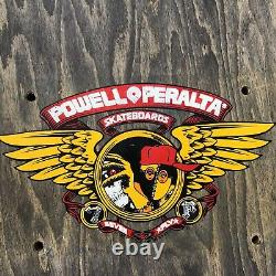 Ray barbee skateboard deck Hydrant Powell Peralta Original 1990 Black Stain Obey