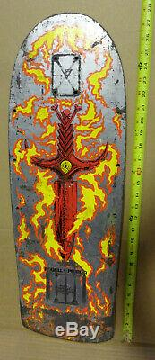 VINTAGE SKATEBOARD Powell Peralta Tommy Guerrero DECK 1986