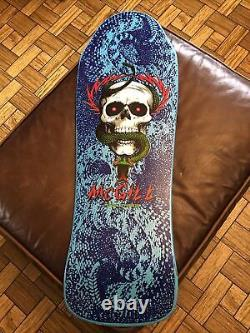 Vintage Authentic Powell Peralta Skateboard Deck (Mike McGill Version)