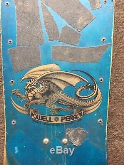 Vintage Powell Peralta 1983 Tony Hawk Chicken Skull Skateboard Tracker AlvaRocks