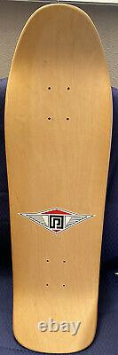 Vintage skateboard Ray Barbee NOS White And Barbee Tarot Deck In Natural Finish